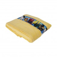 Marvelspidermanbathtowelyellow