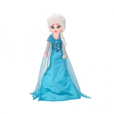 "Disney Frozen Plush Elsa 24""Blue"