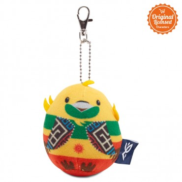 Asian Games 2018 Keychain Egg Doll Bhin-Bhin 3 Inch