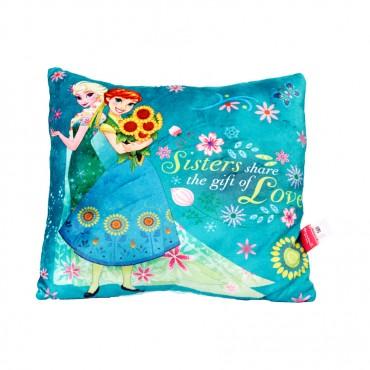 Frozen SQ Cushion Green