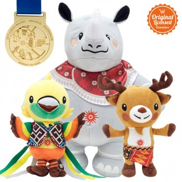 Asian Games 2018 Paket A (Maskot+Medal)