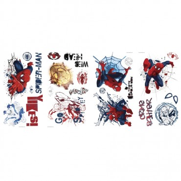 Ultimate Spider-Man Graphic Peel & Stick Wall Decals