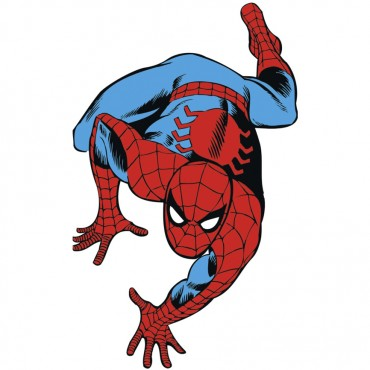 Spider-Man Classic Peel And Stick Giant Wall Decals