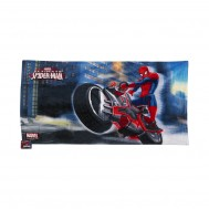 Marvelspidermanbathtowelblue