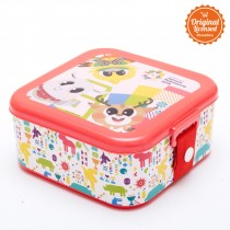 Asian Games Lunch Box Red