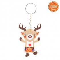 Asian Games 2018 Keychain Ruber 3D Atung