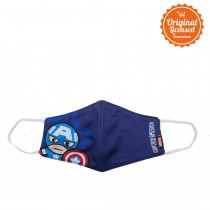 Masker Anak Laki Laki Marvel Captain America Style A